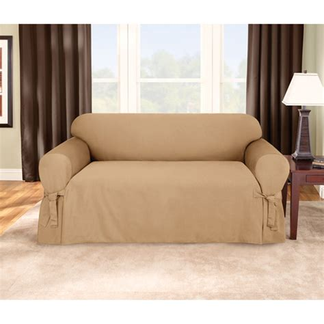 sofa slipcovers walmart sure fit logan sofa slipcover walmart