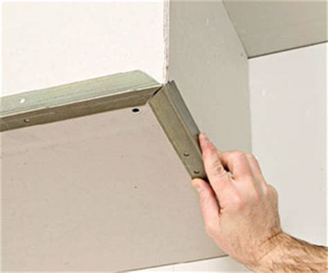 how to cut corner bead two and three way corners drywall installation repair