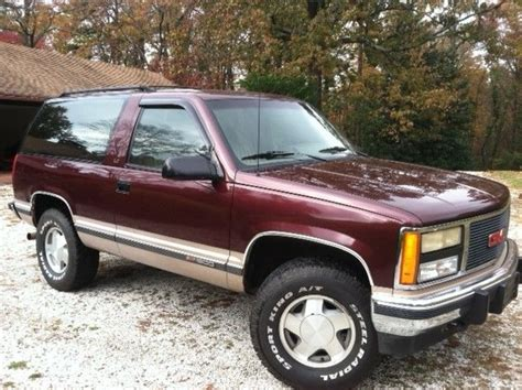 manual cars for sale 1993 gmc yukon navigation system used 2 door 4x4 yukon or tahoe for sale autos post