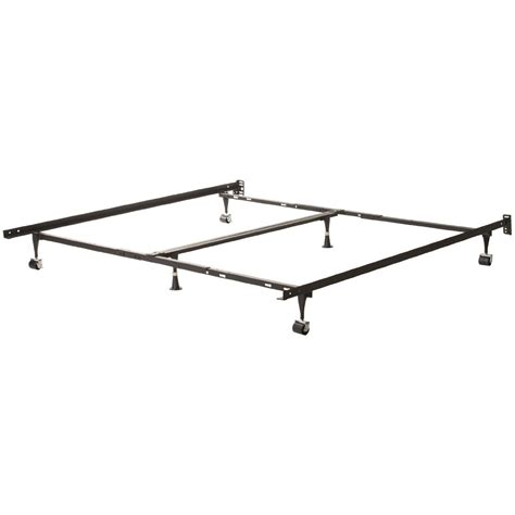 universal bed frame universal adjustable metal bed frame king