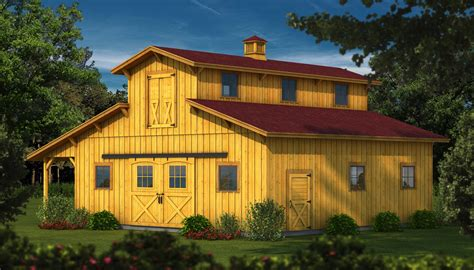 houses rear classic home with southland launches classic wood barn kits