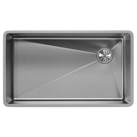 single basin stainless steel undermount kitchen sink elkay crosstown undermount stainless steel 32 in single