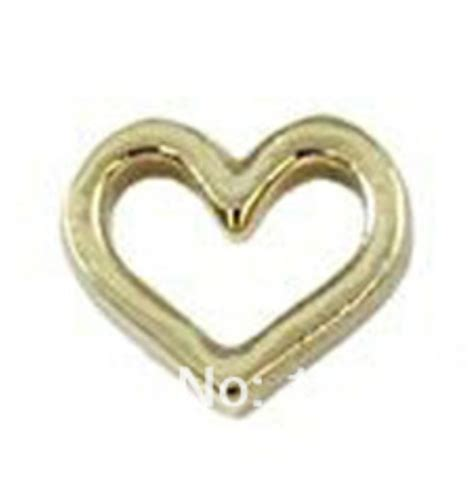 hollow gold gold hollow charm