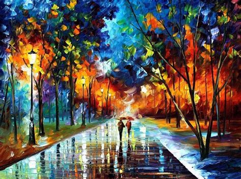 painting palette knife breathtaking paintings using only a palette knife