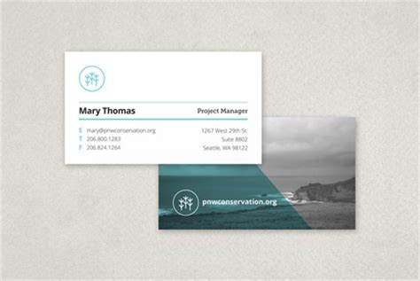 cards for profit non profit organization business card template inkd