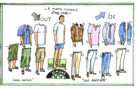 dress code for dress code le mans classic 2018