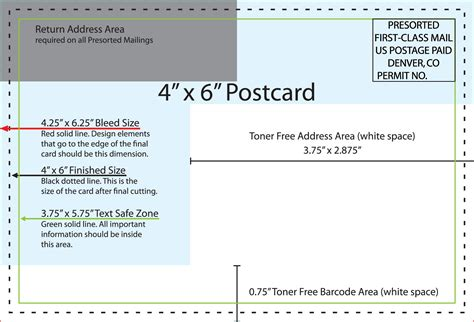 usps postcard template 5 clear and best samples templates