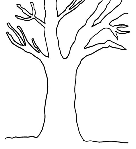 tree colouring in pages tree branches printable coloring pages