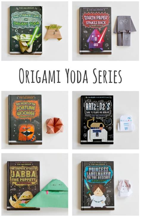 origami wars puppets book review the origami yoda series make and takes