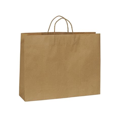 with paper bags kraft paper bag boutique large with handle 450 w x 350 h x