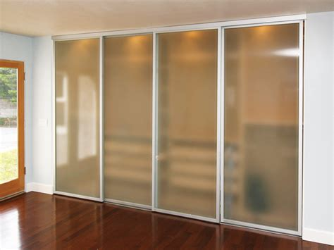 closet doors with glass sliding glass closet doors frosted the sliding door co