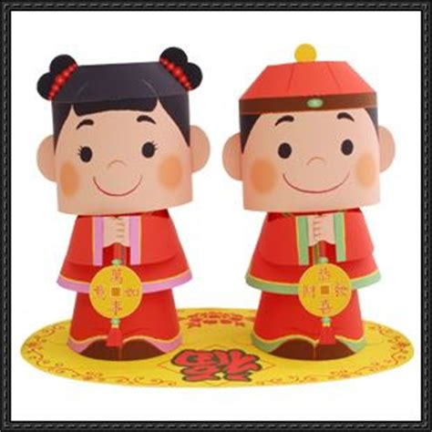canon paper crafts canon papercraft wealth message doll free