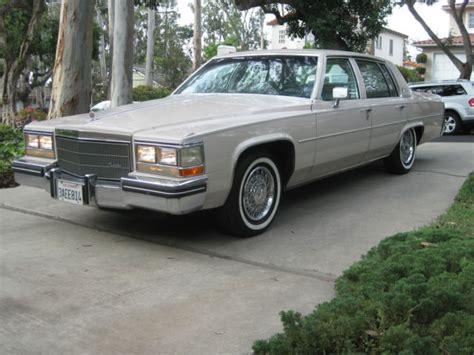 1984 Cadillac Sedan by 1984 Cadillac 4 Door Sedan With The 4 1 Liter