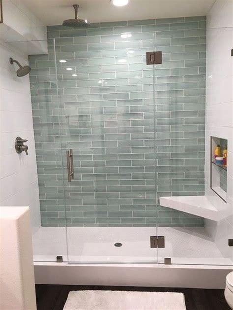 glass tiles bathroom ideas best 25 glass tile shower ideas on bathroom