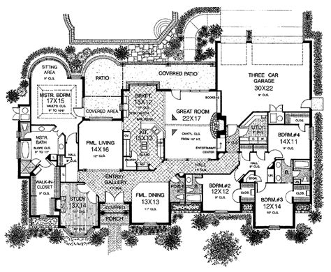 country kitchen floor plans big country home floor plans