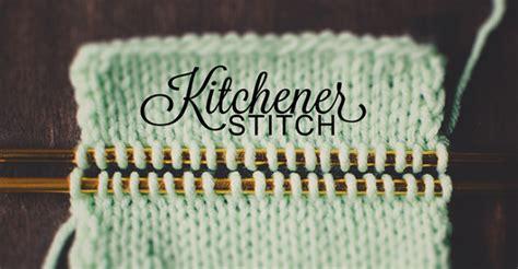 knitting kitchener stitch knitting the kitchener stitch a tutorial on craftsy