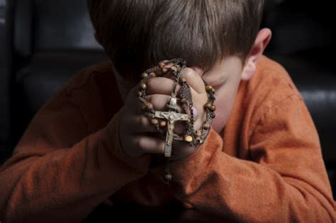 rosary children how to pray the rosary