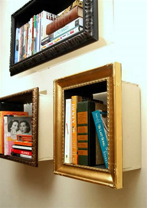picture framing books book frames frame turns into bookshelf by change of scenery