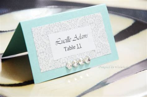 how to make place cards for wedding blue place cards wedding place cards diy project