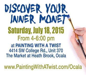 paint with a twist ocala fl discover your inner monet marion therapeutic