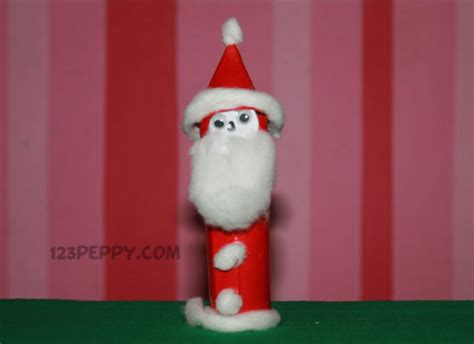 santa claus crafts how to make simple santa claus 123peppy