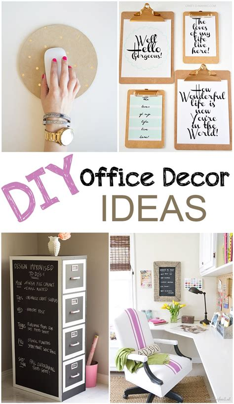 office decor ideas for work diy office d 233 cor picky stitch
