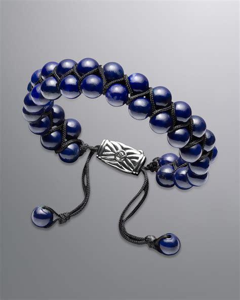 spiritual bead bracelet david yurman spiritual bead bracelet lapis in blue for