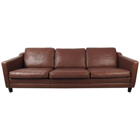 leather modern sofas mid century modern leather sofa