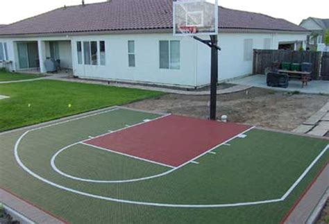 basketball half court dimensions backyard half court basketball dimensions concrete hoops backyard