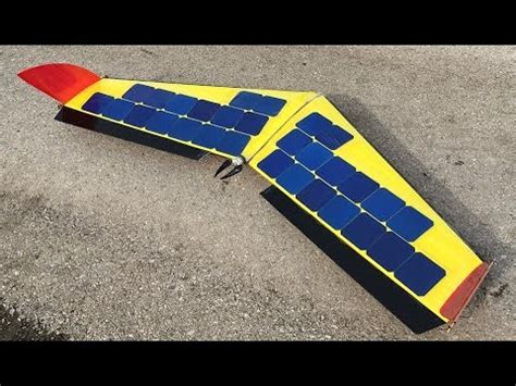 solar powered solar powered plane drone fpv build rc aircraft