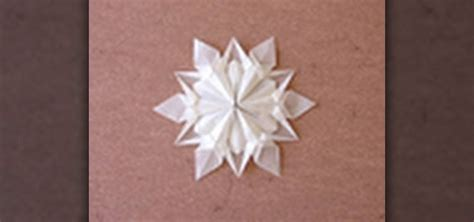 origami snow flakes how to origami a snowflake designed by dennis walker 171 origami