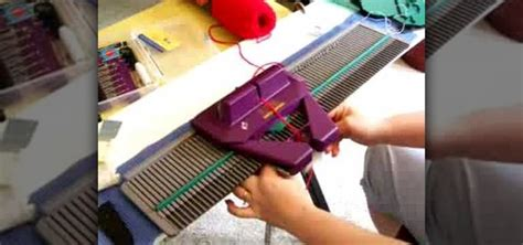 how to use a knitting machine how to handle jams on a knitting machine 171 knitting
