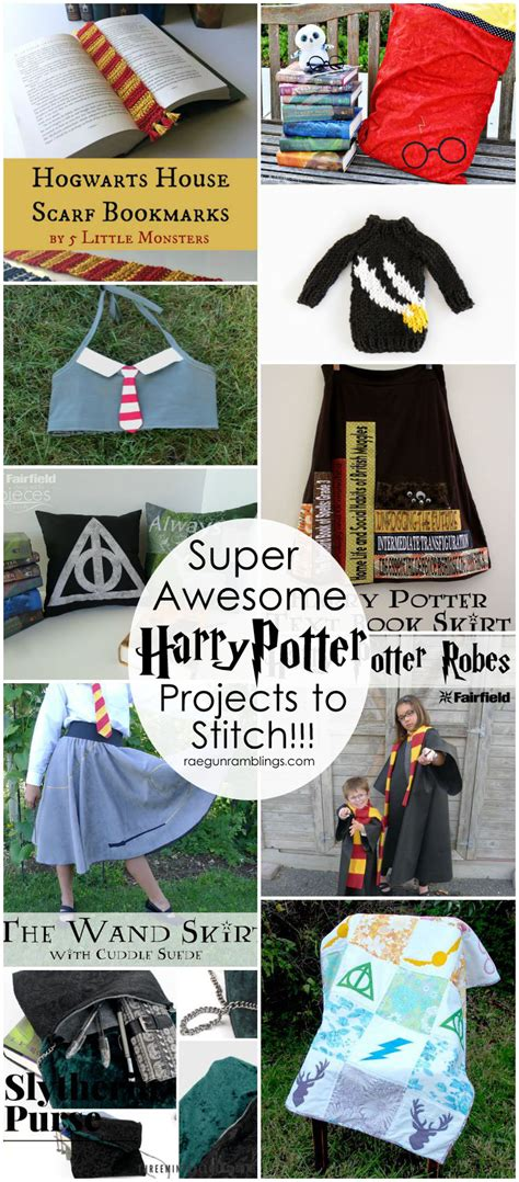 harry potter craft projects 50 awesome harry potter projects gun ramblings