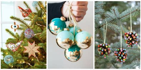 tree ornaments to make at home 29 diy ornament craft ideas how to
