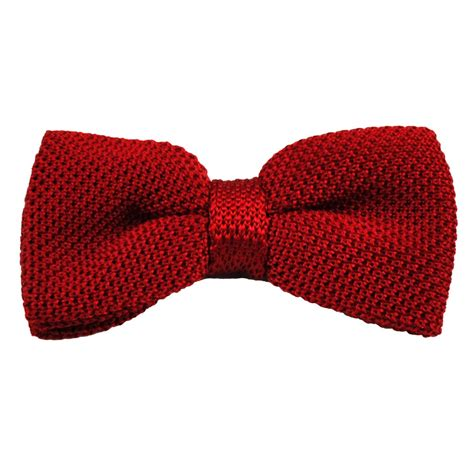 knitted bow tie plain silk knitted bow tie from ties planet uk
