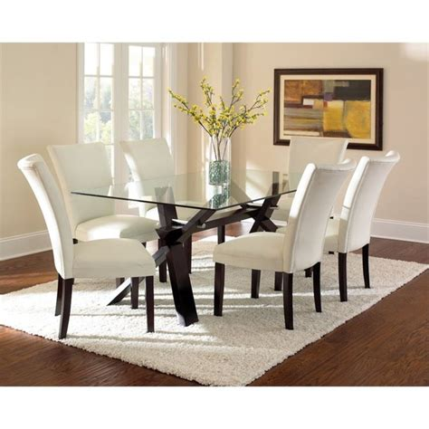 glass top dining room table sets best 25 glass top dining table ideas on pub