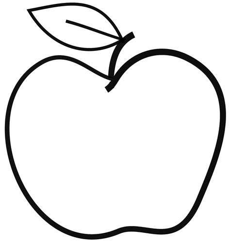 apple black black and white apple clip cliparting