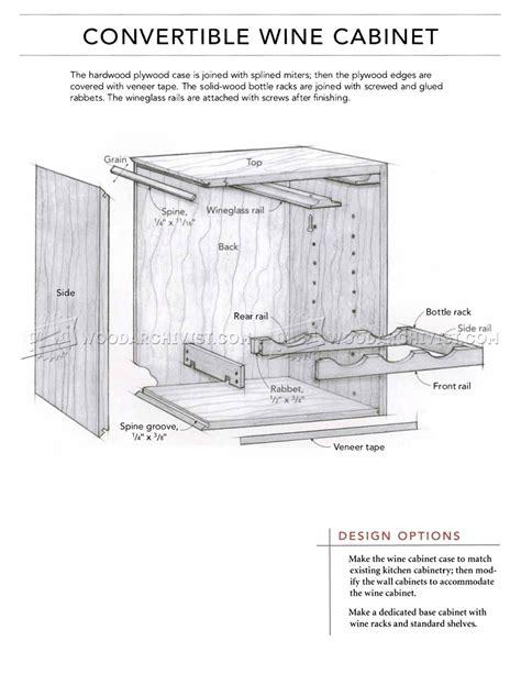 wine cabinet woodworking plans wine cabinet plans woodarchivist