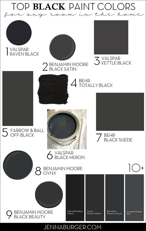 paint colors black top paint colors for black walls painting a black wall