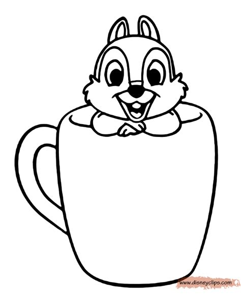 coloring book pictures chip and dale coloring pages disney coloring book