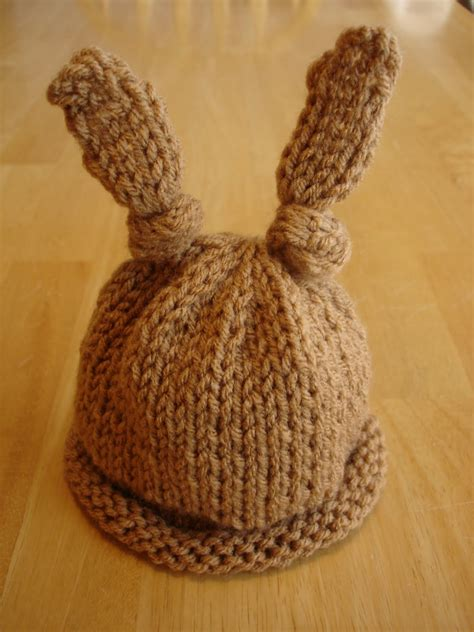how to knit a bunny hat modal title