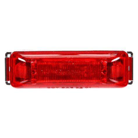 led light clearance truck lite 174 19031r 19 series rectangular 2 led