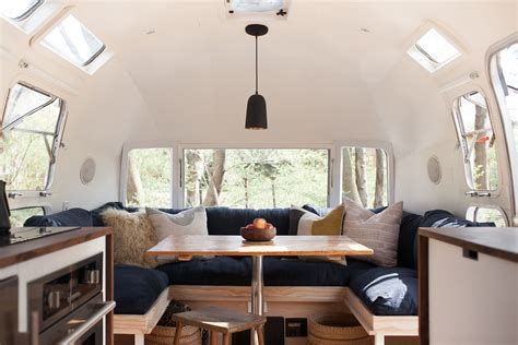 Reno Bathroom Remodel by Vintage Airstream Custom Built For Modern Living On The Go