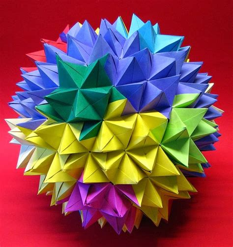 origami modular modular origami the ancient of kusudama evolved