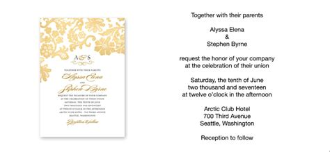 how to make an invitation card for wedding how to word wedding invitations theruntime