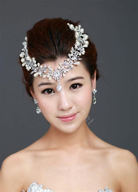 how to make headpiece jewelry buy wholesale wedding jewelry pearl tiaras