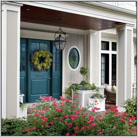 front door colors for beige house 25 best ideas about beige house exterior on