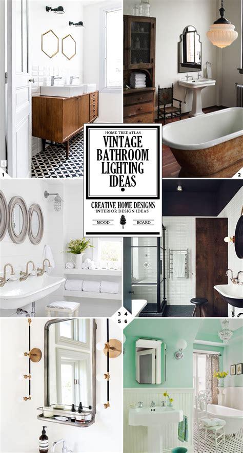 vintage style bathroom lighting style guide vintage bathroom lighting fixtures and ideas