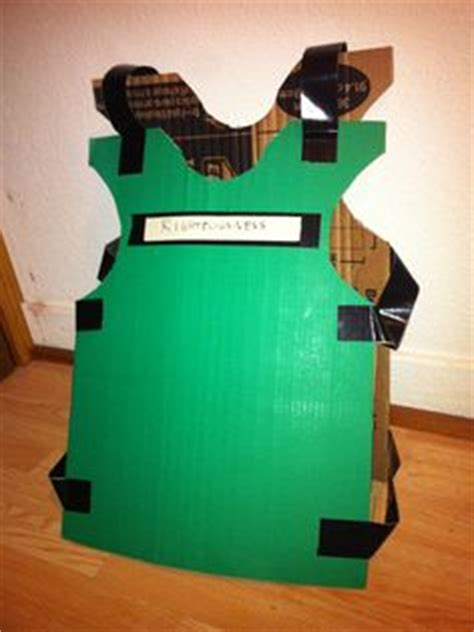 breastplate of righteousness craft for chris aleman on