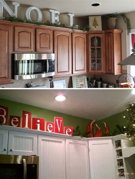 decorating above kitchen cabinets ideas 20 stylish and budget friendly ways to decorate above kitchen cabinets amazing diy interior